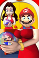 Cutscene - Mini Mario in Pauline's hands.png