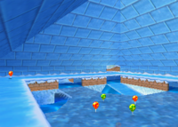 Icicle Pyramid, from Diddy Kong Racing.
