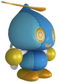 Omochao from Mario & Sonic at the Rio 2016 Olympic Games
