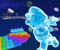 SNES Rainbow Road R in Mario Kart Tour