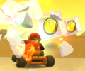 The icon of the Wendy Cup challenge from the Jungle Tour and the Morton Cup challenge from the 2021 Trick Tour in Mario Kart Tour.