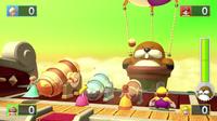 Boss minigame from Mario Party 10; Mega Monty Mole's Maze Mischief.