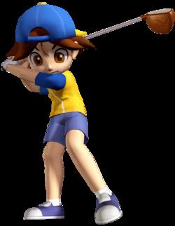 Neil in Mario Golf: Advance Tour