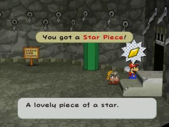 PMTTYD Star Piece RogueSewerThousandYearDoorStair.png