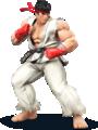 Artwork of Ryu from Super Smash Bros. for Nintendo 3DS / Wii U