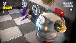 Screenshot of Super Mario 3D World.