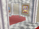 Luigi entering the painting of Chief Chilly Challenge