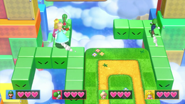 Snake Block Party, from Mario Party 10.