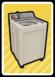 A Washing Machine Card in Paper Mario: Color Splash.