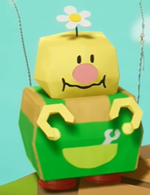 Big Paper Peak's Torque in Yoshi's Crafted World.