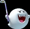 Boo artwork from Mario Golf: World Tour.