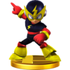 Elec Man trophy from Super Smash Bros. for Wii U