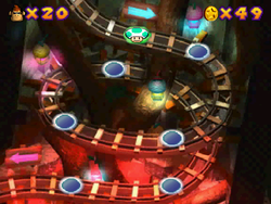 World 5 in the Mini-Game Coaster in the game Mario Party 2.