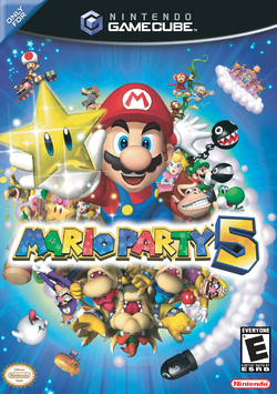 The North American box art for Mario Party 5