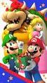 My Nintendo Mario Luigi Happy Holidays wallpaper smartphone.jpg