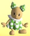 Green Noki from Mario Super Sluggers