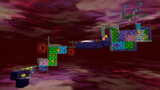 "A screenshot of Bowser's Dark Matter Plant during the ""Darkness on the Horizon"" mission from Super Mario Galaxy."