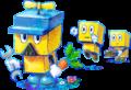 Brickle and Brock Species Artwork - Mario & Luigi Dream Team.png