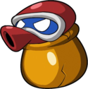 Artwork of a Crackpot from Wario Land: Shake It!