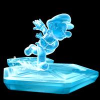 Artwork of Ice Mario from Super Mario Galaxy