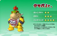 Artwork of Bowser Jr., for Mario Kart Arcade GP DX