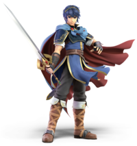 Marth from Super Smash Bros. Ultimate