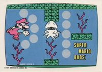 A Nintendo Game Pack scratch-off game card of Super Mario Bros. (Screen 3 of 10)