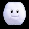 Cloud Block icon in Super Mario Maker 2 (Super Mario 3D World style)