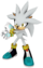 Silver the Hedgehog decal in masatowg.