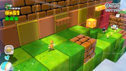 Super Block Land from Super Mario 3D World.