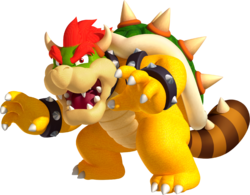 Artwork of a Tail Bowser