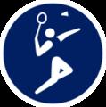 M&S Tokyo 2020 Badminton event icon.png