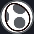 MKAGPDX Black Yoshi Emblem.png