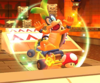 The icon of the Bowser Jr. Cup challenge from the Pirate Tour in Mario Kart Tour.
