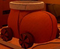 The Boot Car in Paper Mario: The Origami King