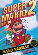 The official box art to Super Mario Bros. 2