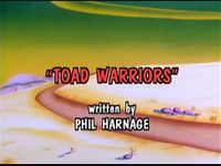 Toad Warriors Title Screen