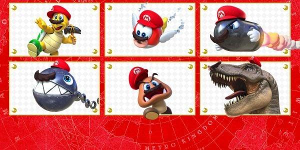 Banner for a Play Nintendo opinion poll on capturable Super Mario Odyssey enemies. Original filename: <tt>2x1-SMO_poll_2_3bZbSHb.0290fa98.jpg</tt>
