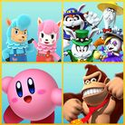 Preview for a Play Nintendo opinion poll on which Nintendo character(s) would be helpful with spring cleaning. Original filename: <tt>1x1-Spring_2018.a25bebd1.jpg</tt>