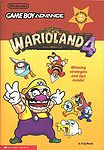 The cover of the Game Boy Advance book Warioland 4 (based on the game Wario Land 4).