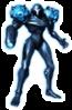 A sticker of Dark Samus