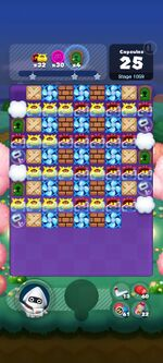 Stage 1059 from Dr. Mario World