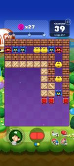 Stage 257 from Dr. Mario World since March 18, 2021