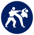 M&S Tokyo 2020 Karate event icon.png