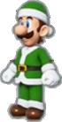 Luigi's Santa Outfit icon in Mario Kart Live: Home Circuit