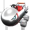 Silver Bullet Blaster from Mario Kart Tour
