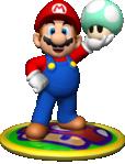 Artwork of Mario, from Mario Party 4.