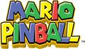Mario Pinball Land early logo.jpg
