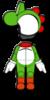 Yoshi Mii racing suit from Mario Kart 8