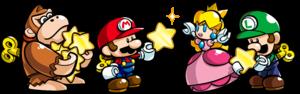Artwork from Mario vs. Donkey Kong: Tipping Stars.